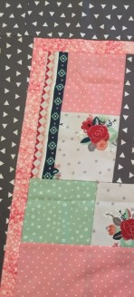 Just a peek at Cheri's Bits and Pieces Baby Quilt